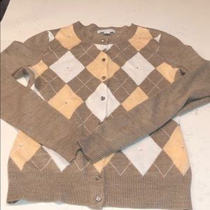 Woman's button down sweater